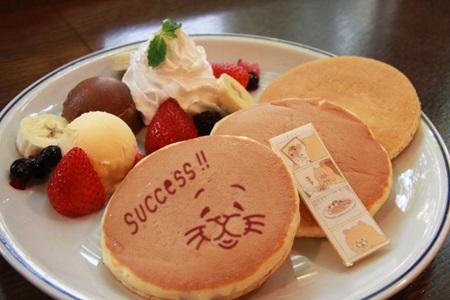 ネコノヒーSUCCESSパンケーキ