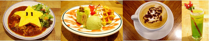 TOWER RECORDS CAFE 表参道店マリオコラボ