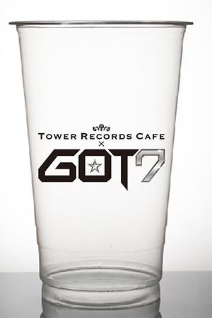 GOT7×TOWER RECORDS CAFE スペシャルコラボカップ