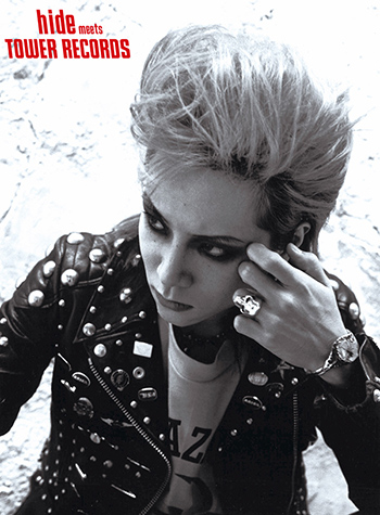 「hide Perfect Treasures meets TOWER RECORDS」