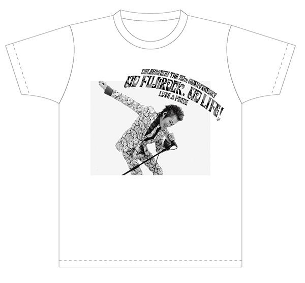 忌野清志郎さん「NO FUJIROCK, NO LIFE!」記念Tシャツ1
