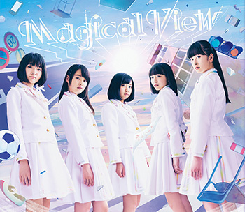 1stフルアルバム『Magical View』 初回限定盤A
