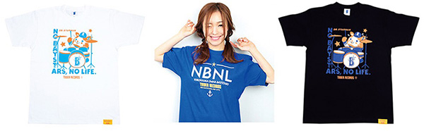 「NO BAYSTARS, NO LIFE.」Tシャツ