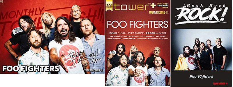 FOO FIGHTERS × TOWER