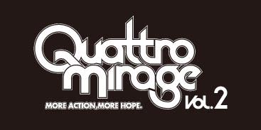 Quattro Mirage vol.2ロゴ