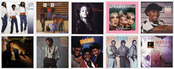 Warner 80s Soul Classics Best Collection1000