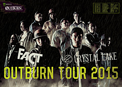 MONSTER ENERGY OUTBURN TOUR 2015 キャンペーン