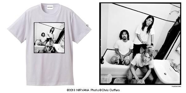 NIRVANA Tシャツ