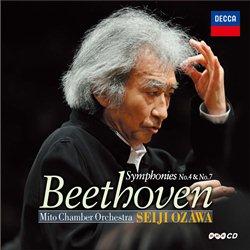 小澤征爾~ベートーヴェン:交響曲第4番、第7番(2014新録音)