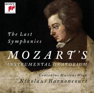 3位:アーノンクール指揮 モーツァルト:後期三大交響曲