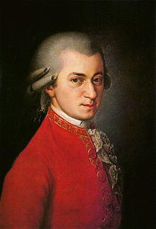 ヴォルフガング・アマデウス・モーツァルト(1756年1月27日~1791年12月5日)