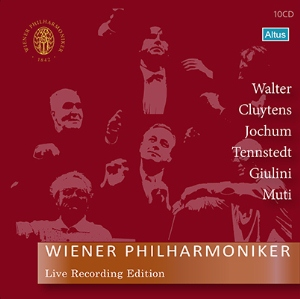 ウィーン・フィル正規音源BOX第2弾~6名の指揮者による名演集(完全限定盤/10枚組)