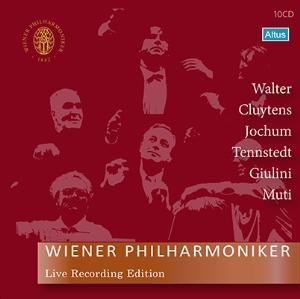 ウィーン・フィル正規音源BOX第2弾~6名の指揮者による名演集(10枚組)