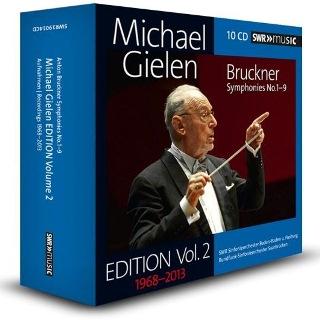 ミヒャエル・ギーレン・エディション第2集~ブルックナー交響曲第1番~第9番(10枚組)
