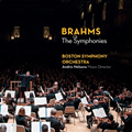 今秋来日、注目のネルソンス&ボストン響最新ライヴ!『ブラームス:交響曲全集』(3枚組)