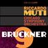 ムーティ&シカゴ響2017年最新盤!ブルックナー:交響曲第9番