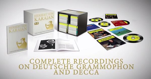 カラヤンDG,Decca録音全集