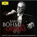 カール・ベームがドイツ・グラモフォンに残したオペラ・声楽作品を集大成!『DGオペラ録音全集』(70枚組)