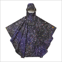 TOWER RECORDS × DESCENTE DUALIS RAINBOW STAR PONCHO