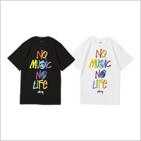 TOWER RECORDS × STUSSY NMNL 3D TEE
