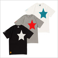 TOWER RECORDS x CHUMS STAR POCKET TEE'13