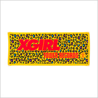 TOWER RECORDS x X-girl NMNL TOWEL'13