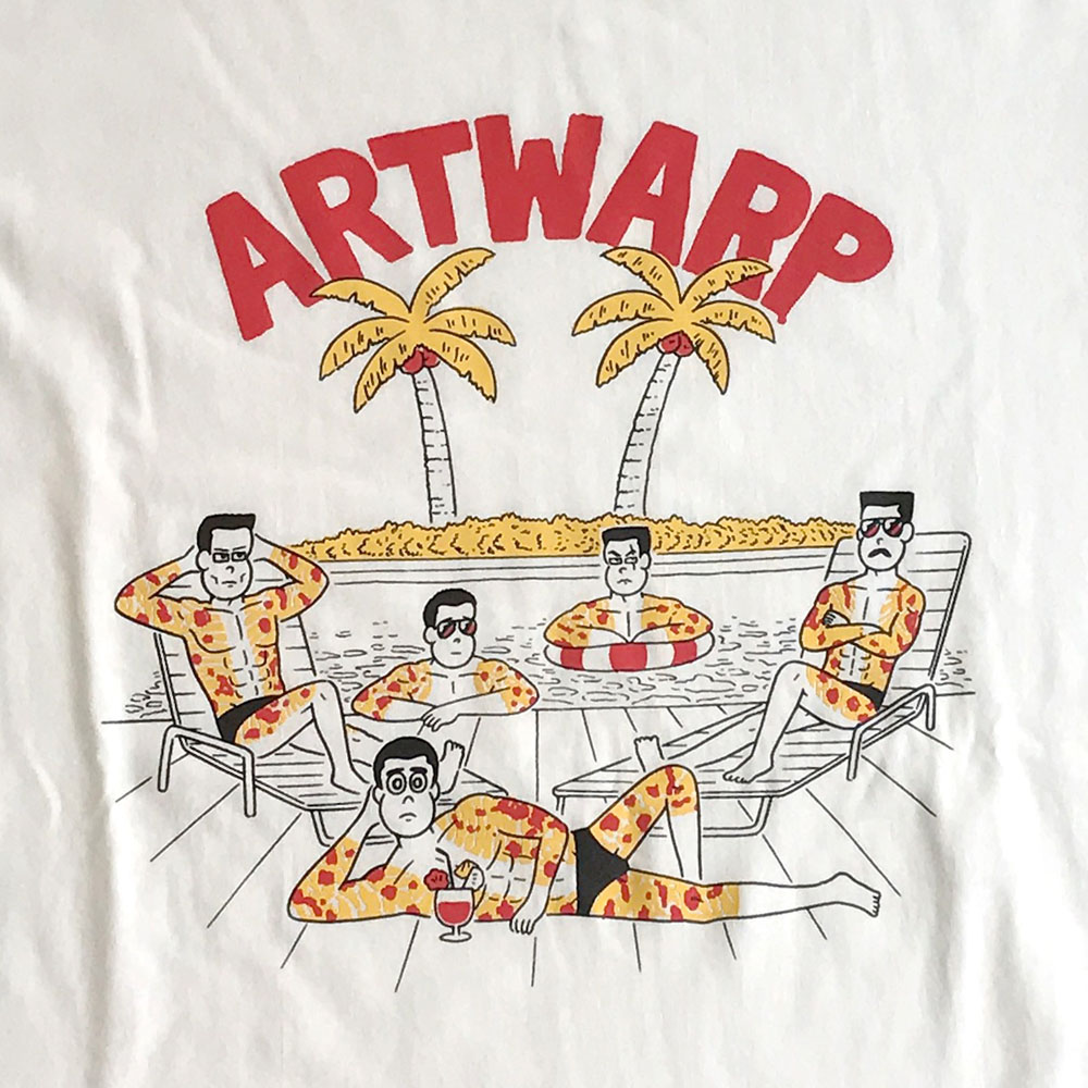 ARTWARP × TOWER RECORDS TEE