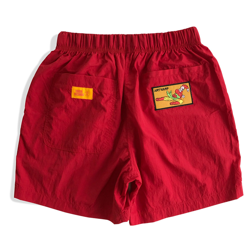 ARTWARP × TOWER RECORDS HALF PANTS