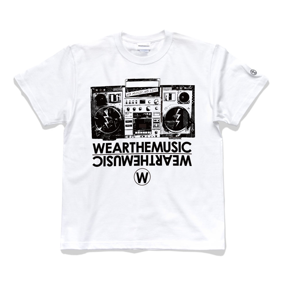 WEARTHEMUSIC × TOWER RECORDS TEE