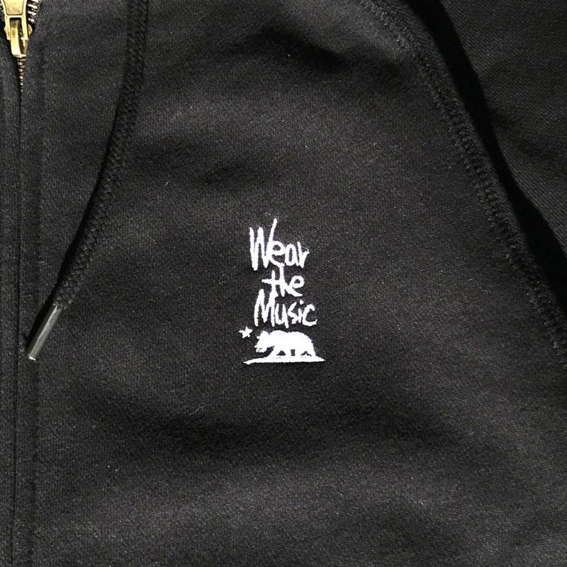 WTM HANDLOGO刺繍 ZIPパーカー