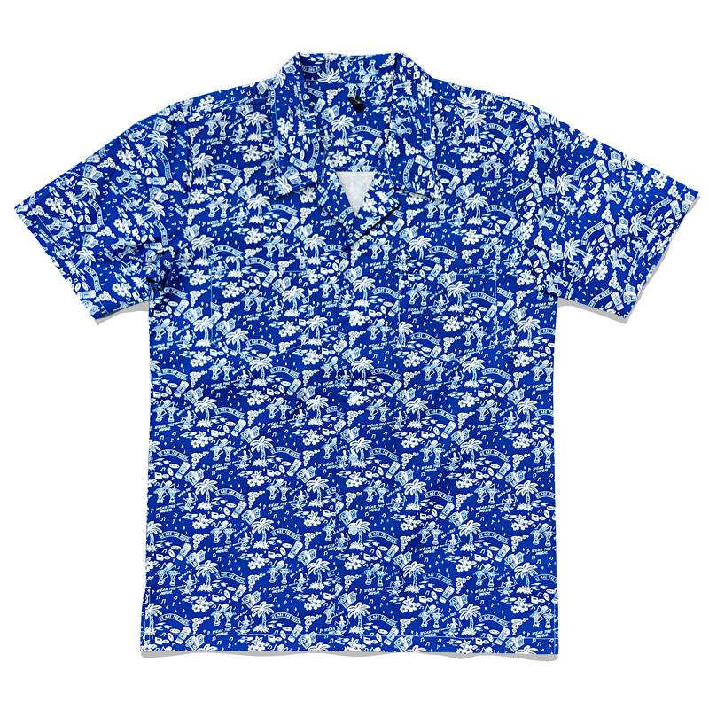 WTM アロハシャツ ネイビー