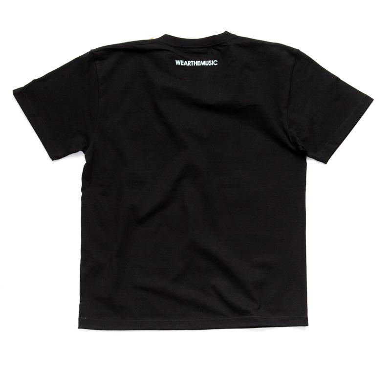WTM_ジャンルT-Shirts FUSION ブラック