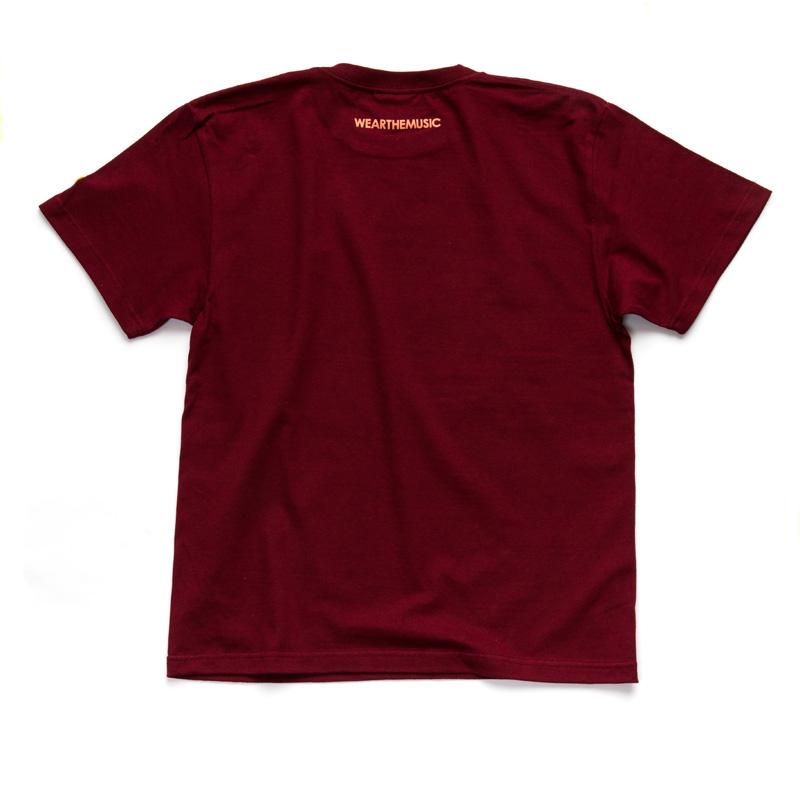 WTM_ジャンルT-Shirts FUNK バーガンディ