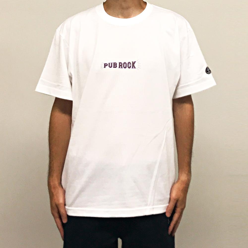 WTM_ジャンルT-Shirts PUB ROCK ホワイト
