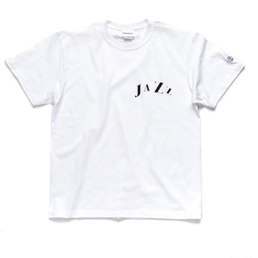 WTM_ジャンルT-Shirts JAZZ ホワイト