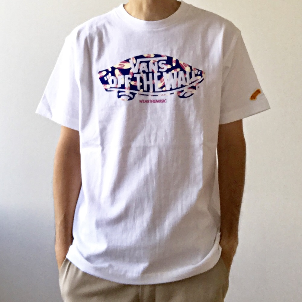 VANS×WEARTHEMUSIC デッキ Tee