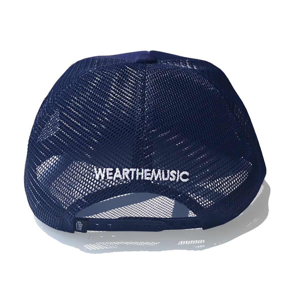 VANS × WEARTHEMUSIC CAP ネイビー
