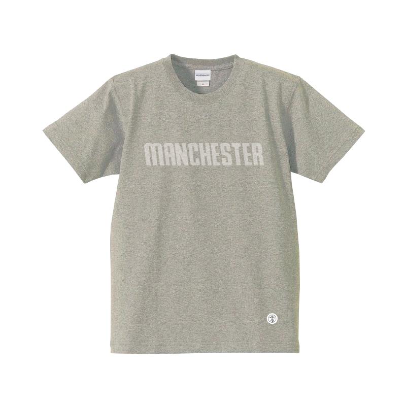 WTM_MANCHESTER_T-Shirt グレー