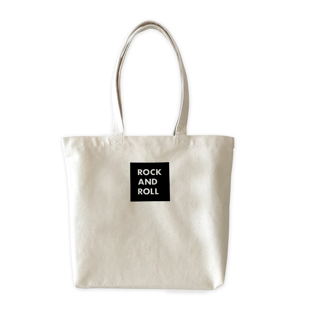 WTM_トートバック ROCK AND ROLL 33 BLACK