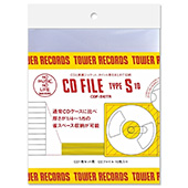 TOWER RECORDS CDファイル 1枚用 (10枚入り)