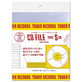 TOWER RECORDS CDファイル 1枚用 (30枚入り)