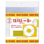TOWER RECORDS CDファイル 2枚組用 (10枚入り)