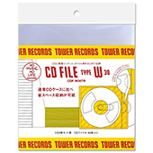 TOWER RECORDS CDファイル 2枚組用 (30枚入り)