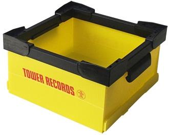 タワレコ・CDコンテナ Yellow