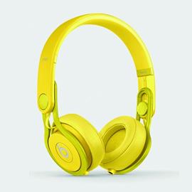 beats by dr.dre Mixr オンイヤーヘッドフォン Yellow