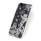 ディズニー iPhone6 カスタムカバー シルバー (トイストーリー シルエット)