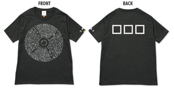 NO MUSIC, NO LIFE. コラボTシャツ ブラック