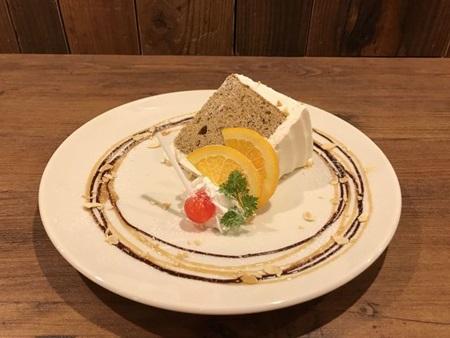 キタコレ紅茶シフォンケーキ