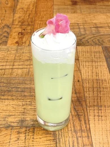 ミミとパルモンの抹茶ミルク