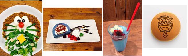 映画ドラえもん × TOWER RECORDS CAFE メニュー